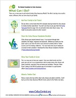 Celiac Awareness Month 2013 Toolkit Preview