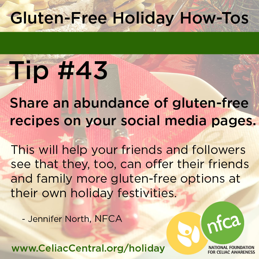 Gluten-Free Holiday Tip 43