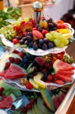 Summer fruit platter