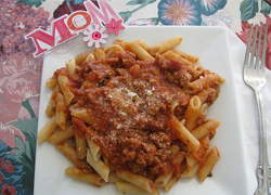 Pasta Bolognese by Annette Marie
