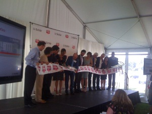 Schar Ribbon Cutting Ceremony - Logan Township
