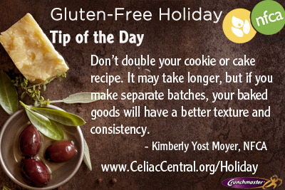Gluten-Free Holiday Tip #29