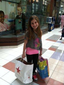 Alexis at the Mall