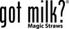 Got Milk? Magic Milk Straws Logo